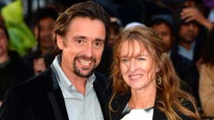 Richard Hammond with his wife Amanda Etheridge