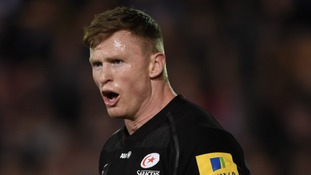England wing Chris Ashton given 13-week ban for biting