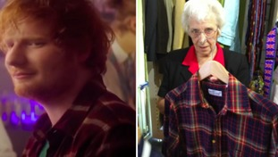 From the big screen to a Suffolk charity shop - fancy owning Ed Sheeran's shirt?