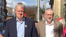 Carwyn jones/Jeremy Corbyn