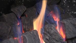 Gas fire