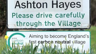 Ashton Hayes in Cheshire