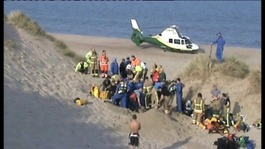 Rescue at Druridge Bay, Northumberland