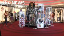 Collection of props from TV and films being sold off