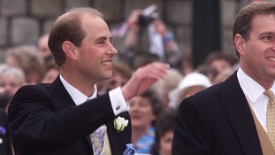 Prince Edward, the Earl of Wessex, is the Queen's youngest son