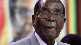 Robert Mugabe has been in charge of Zimbabwe for 36 years