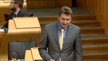 WATCH: Local MSP uses Star Trek quote in Holyrood debate