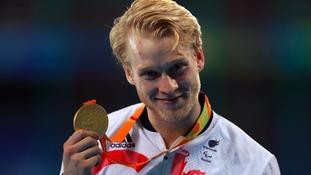 Jonnie Peacock won gold in Rio.