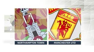Northampton Town v Manchester United