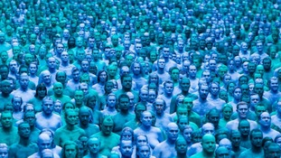 Thousands stripped off for the living art installation, Sea of Hull, which celebrated Hull's 2017 City of Culture status