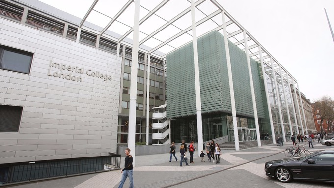 Imperial College London was ranked eighth