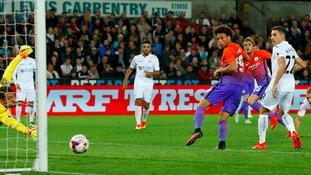 Swansea 1-2 Man City – EFL Cup match report