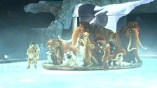 Ice Age Live, earlier today