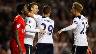 Tottenham Hotspur 5-0 Gillingham – EFL Cup match report