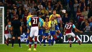 West Ham 1-0 Accrington – EFL Cup match report