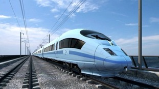 An image of what High Speed Rail might look like