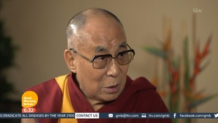 Dalai Lama: Refugees should aspire to return home