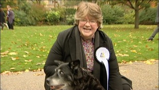 Therese Coffey and Rizzo
