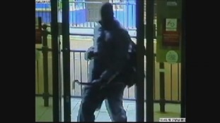 CCTV still of one of the raiders