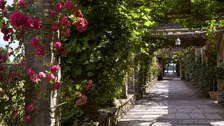Gardeners from historic castle create 'Garden of the Year'