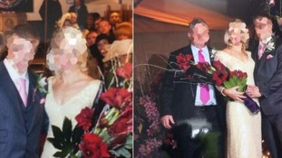 Police found the couple didn't want their wedding album back