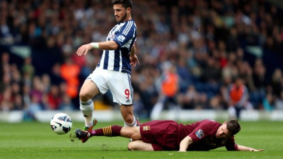 After last weekend's heart-breaking defeat to Man City, Shane Long (left) and WBA will hope to return to their recent good form.