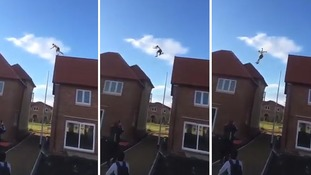 Police issue warning as 'alarming' footage of freerunner emerges