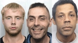 Three men wanted on prison recall in West Yorkshire