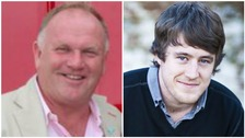 Families pay tribute to men who died in microlight crash