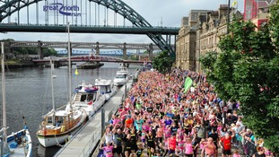 Mini Great North Run 2017 fills up in record time