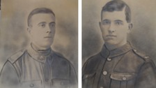Can you help identify these unknown WWI soldiers?
