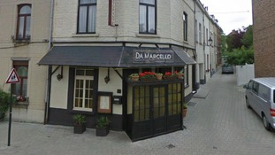 Nicholas Mockford was shot after leaving the Da Marcello Italian restaurant in a suburb of the Belgium capital, Brussels