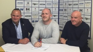 Former Whitehaven prop becomes youngest pro-coach