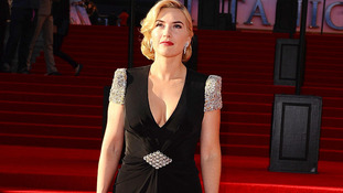 Kate Winslet at the Titanic in 3D premiere