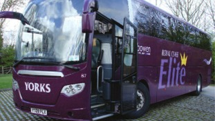 One of Bowen Travel Group's coaches