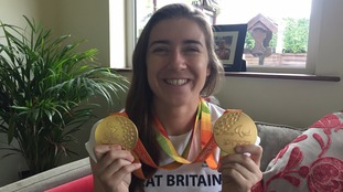 Borders champion Paralympian returns to Newcastleton