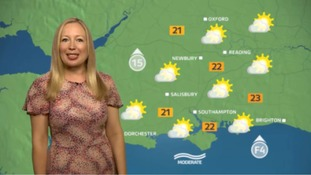 Philippa has the weekend weather for the west