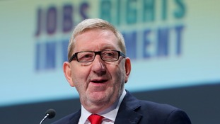Len McCluskey urged Labour MPs to return to the shadow cabinet