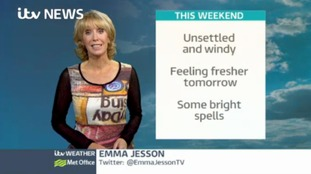 Weather: Saturday lunchtime update