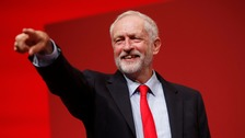 Jeremy Corbyn re-elected as Labour leader