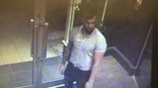 Police say investigations are ongoing and have released CCTV images of a man they want to speak to about the incident.