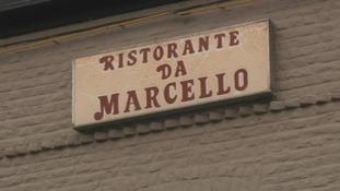 Ristotante Da Marcello where Nicholas Mockford was gunned down