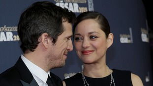 Cotillard (right) and Canet (left) are expecting their second child together