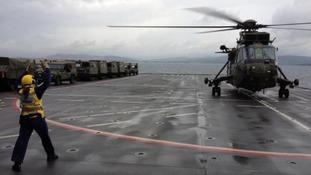 Aboard HMS Bulwark