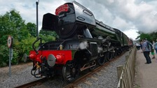 The Flying Scotsman at the National Rail Museum in Shildon