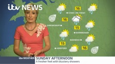 Your weather outlook for the day with Helen Plint