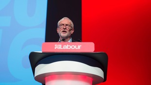 Jeremy Corbyn has been re-elected as the Labour party leader