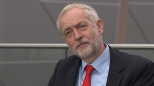 Mr Corbyn said he was still 'having discussions' about how his shadow cabinet