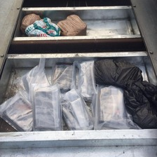 The drugfs were seized at Belfast port on Friday.