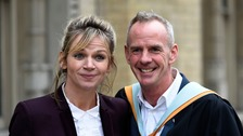 Zoe Ball and her DJ husband Norman Cook